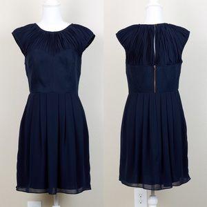Ted Baker Navy bodice corset Dress